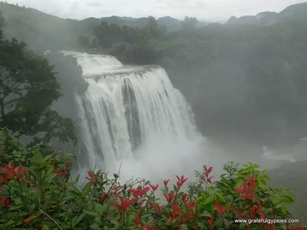 Huangguoshu Waterfall in all it's glory
