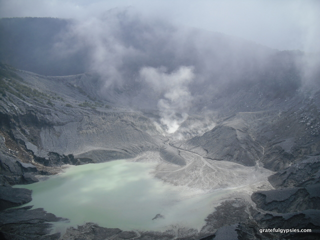 Tangkuban Perahu volcano