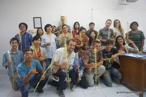 Darmasiswa students in Bali