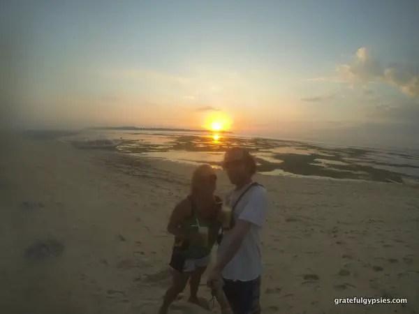 Gili Island Sunset