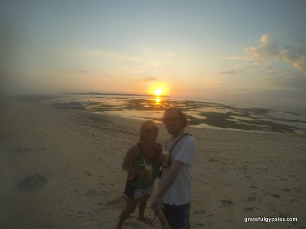 Gili Island Sunset