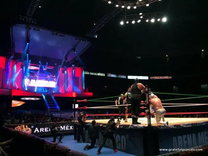 Lucha Libre at Arena Mexico