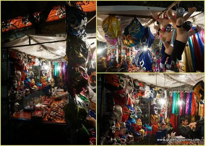 Masks of Lucha Libre