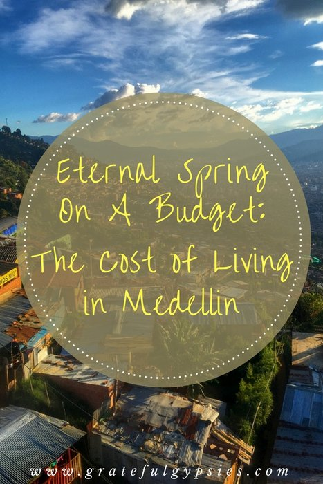 cost of living in Medellin