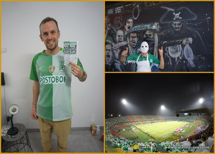 Cost of Living in Medellin - football games