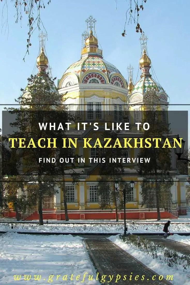 teach in Kazakhstan