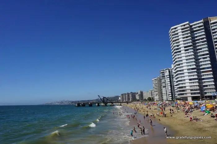 Viña del Mar beach
