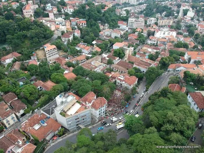 Carnaval in Brazil bloco