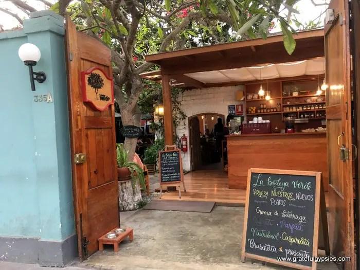 Best cafes in Lima La Bodega Verde