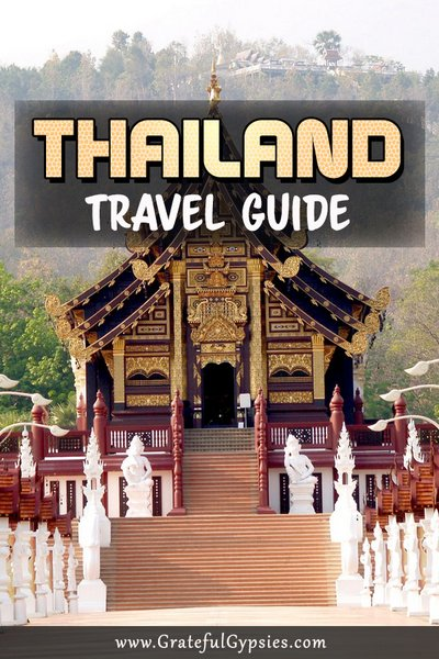 Traveling to Thailand changed our lives. It's where we went for our first backpacking trip and we loved every minute. We have been back many times since then and we've compiled all our Thailand tips into one easy-to-navigate page. Click the link and get ready to be inspired to visit Thailand! #travelthailand #travelguide