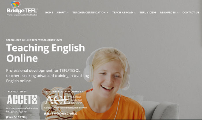 online tefl course BridgeTEFL