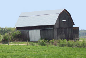 barn, Mt. Saviour