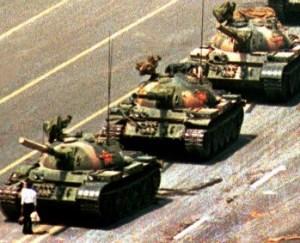 tank man peace