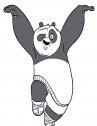 kung fu panda calcio volante