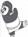 Po divertente, disegni di kung fu panda da stampare