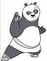 Il Panda Po: disegno di kung fu panda