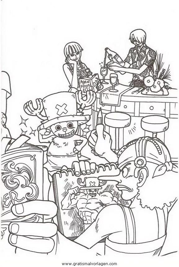 One Piece 58 Gratis Malvorlage In Comic Amp Trickfilmfiguren