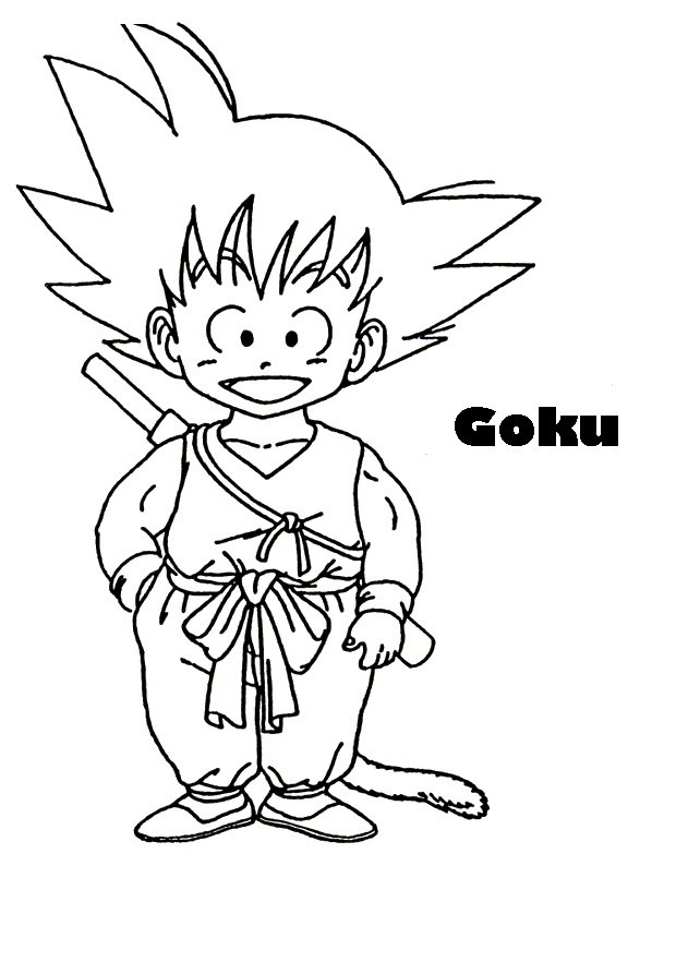 Para Imagenes Dragon Ball Colorear De