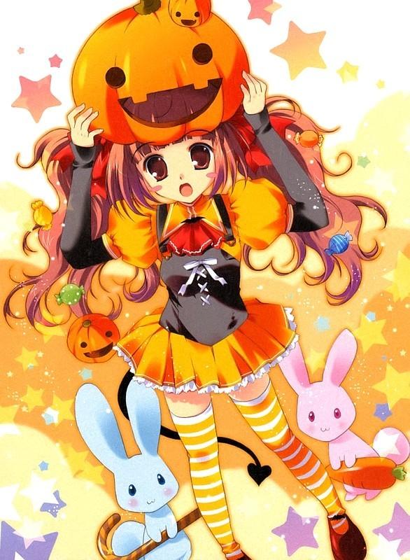Halloween Manga Y Anime Para Android E Iphone Fondos Movil