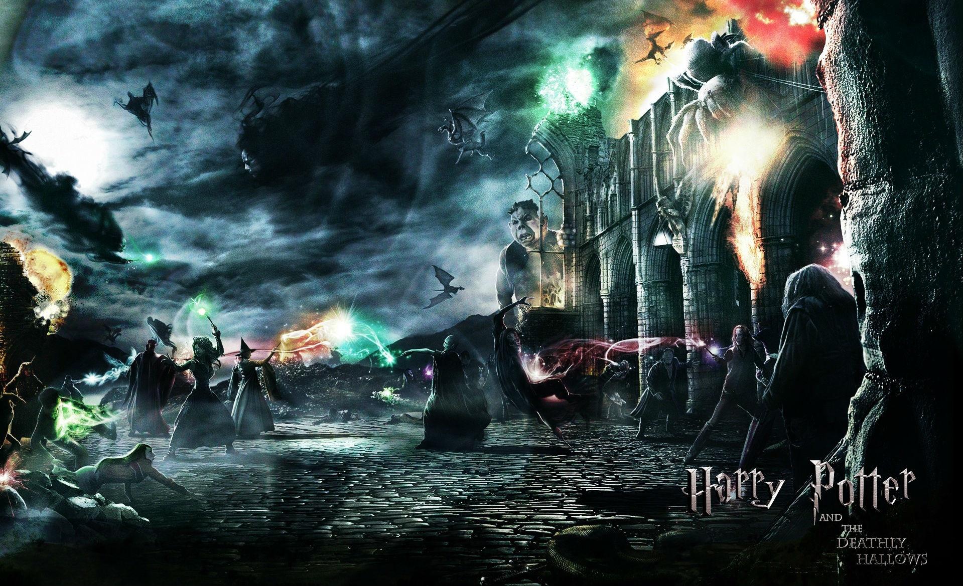 Fondos De Harry Potter Y Las Reliquias De La Muerte Wallpapers Gratis