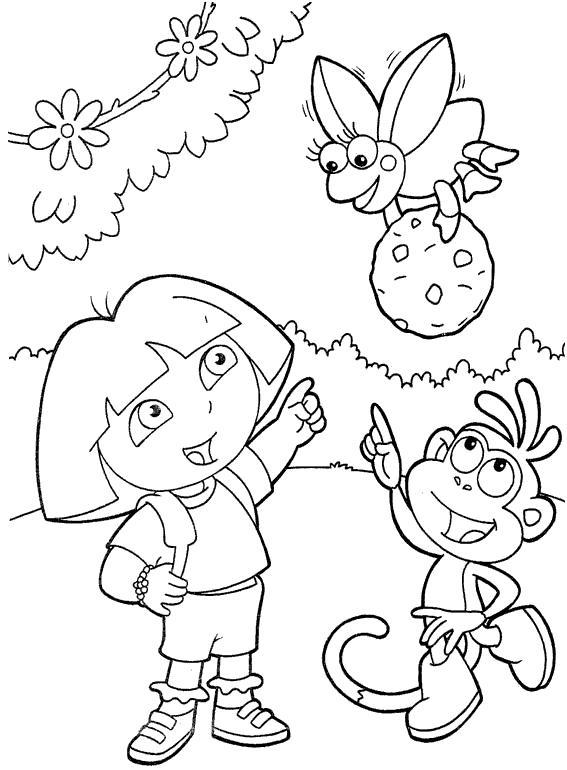Dora Juegos De Colorear Gratis