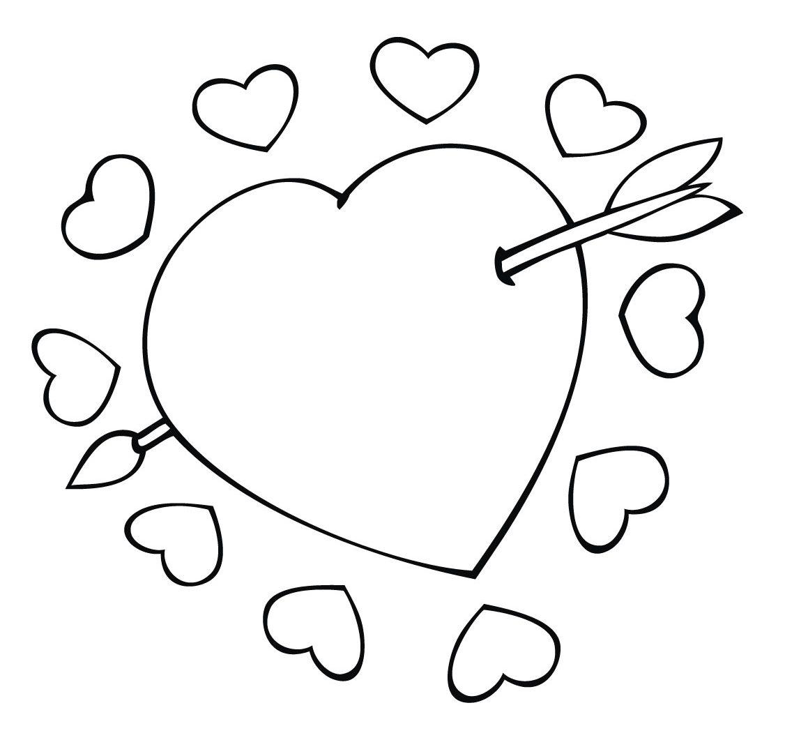 Corazones De Amor Para Colorear 2
