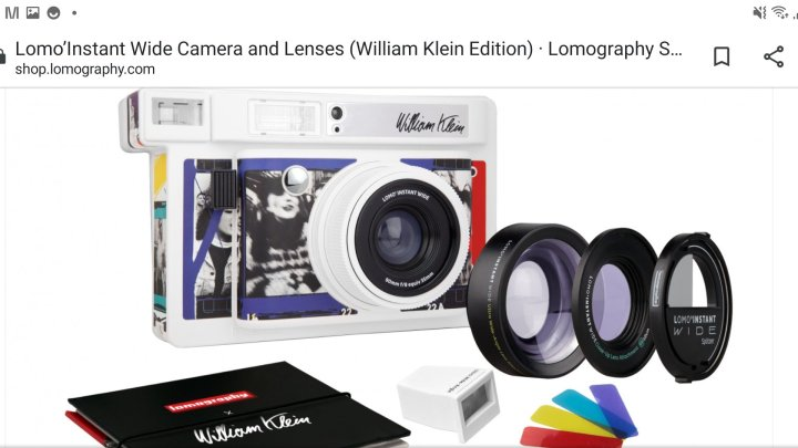 Lomo Wide – William Klein Edition