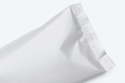 embalagem flexivel perolada