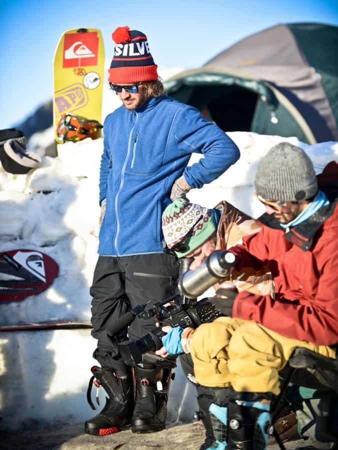 Andy Barroso compartiendo unos matecitos con Fer Natalucci cuando los rayos del sol acompañaban unas buenas charlas...