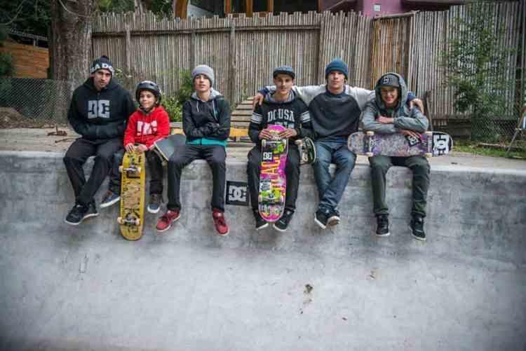 de izq. a der. Marcos Laprebendere, Gael Dobar, Santi Rezza, Ezequiel Larrosa, Sandro Moral y Mauro Iglesias.