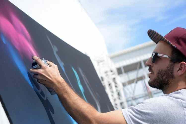 Graff en acción