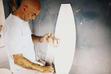 Shapers - Artesanos de las tablas de surf Manuel Mosquera