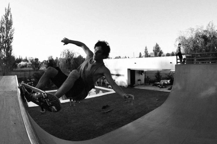 Facundo Soto de Guasones tiene su propia rampa de skate