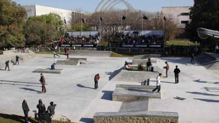 Converse Skate Plaza
