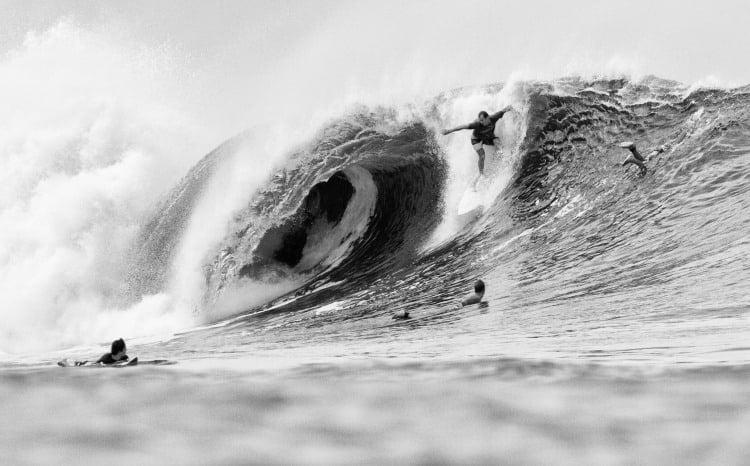 Nico Fischer, shaper y surfista que nos recibió en Costa Rica