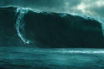 """El equipo de rodaje de """"Point Break"""" arriesgó sus vidas enfrentando olas de 70 pies"""