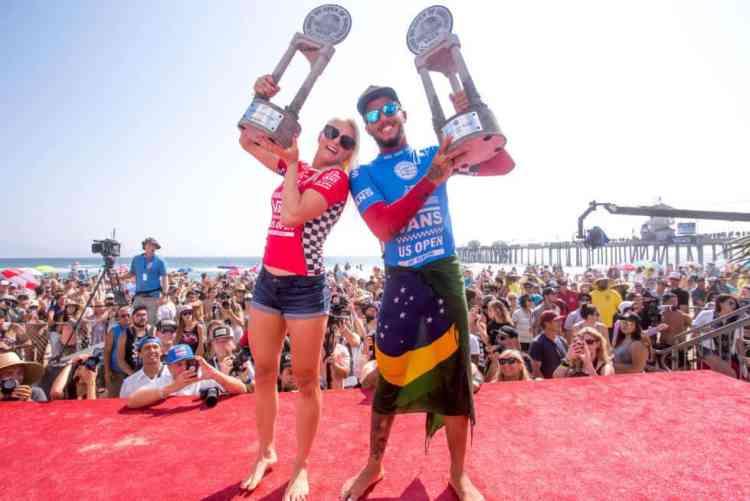 Los grandes campeones del Vans Us Open of Surfing