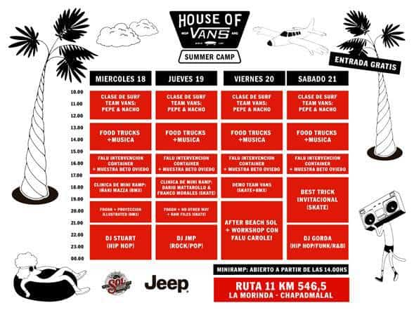 House of Vans Chapadmalal