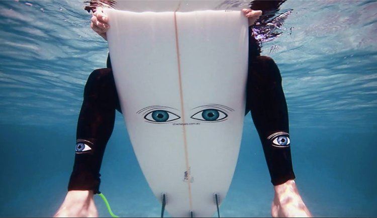 shark eyes surf tiburon