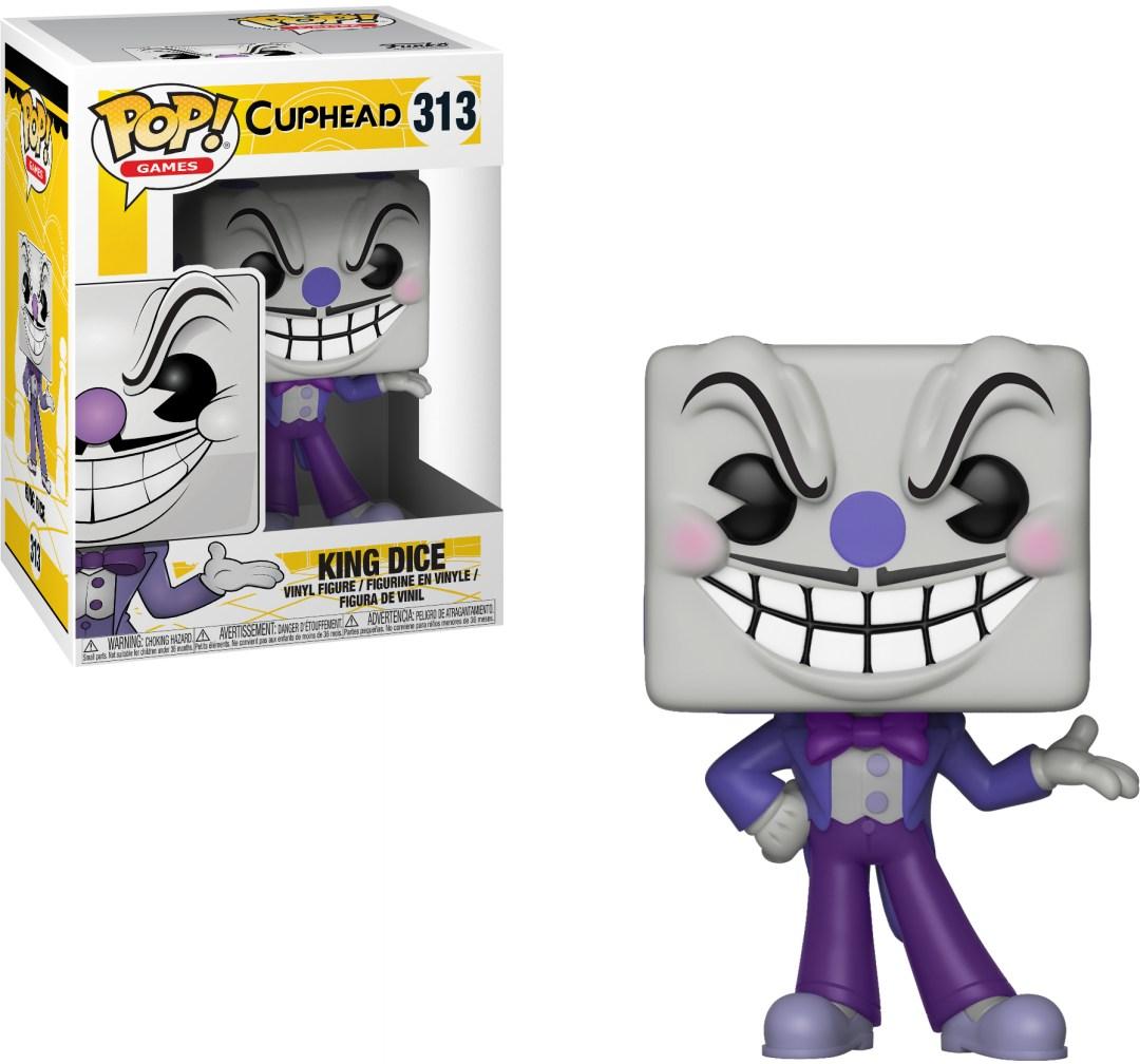 Funko Pop! Games #313 Cuphead King Dice