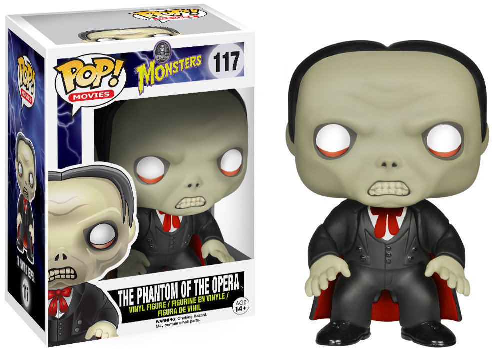 Funko Pop! Movies #117 Universal Monsters Phantom of the Opera