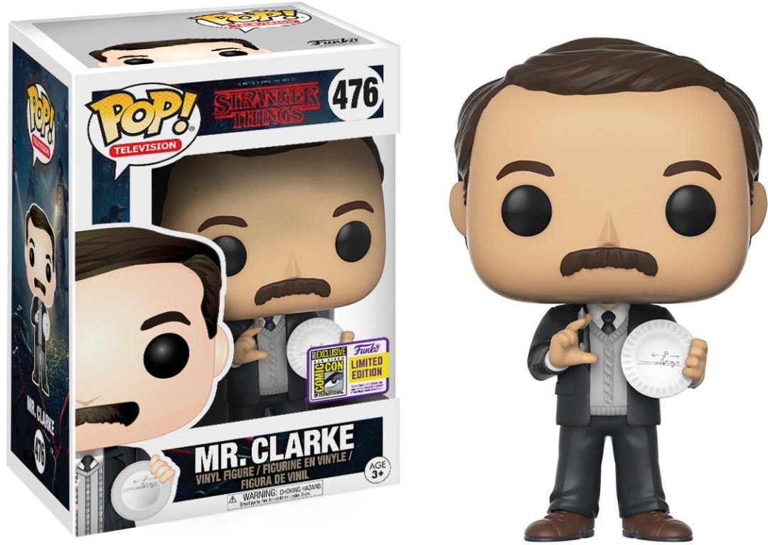 Funko Pop! Television #476 Stranger Things Mr. Clarke