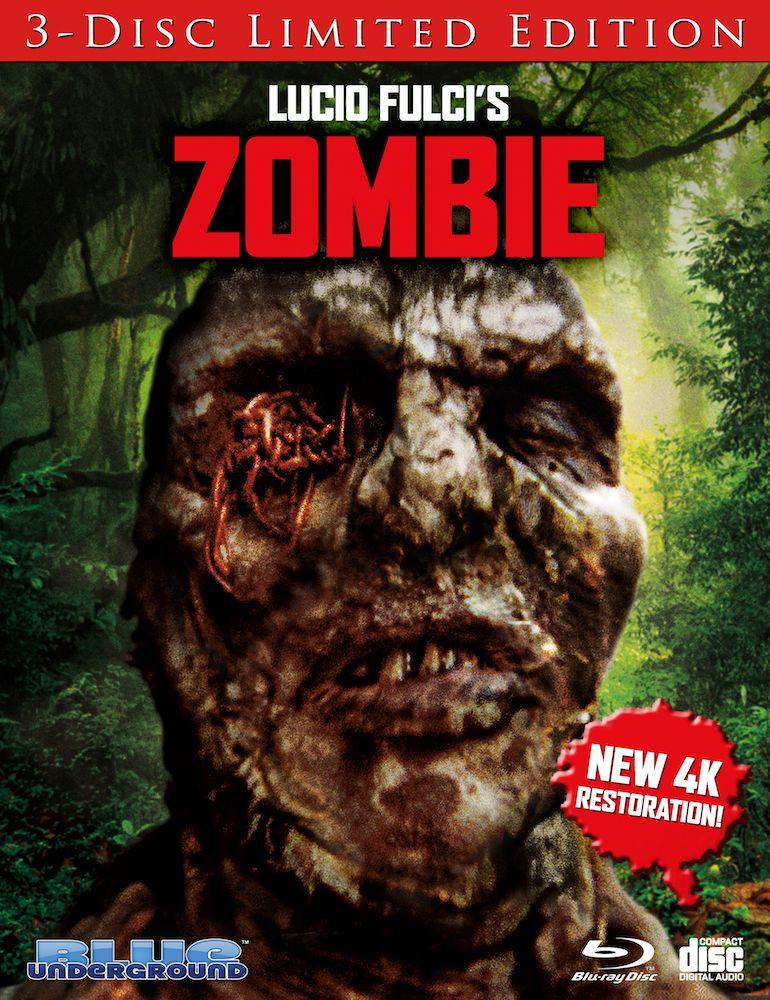Blue Underground Bringing Lucio Fulci's 'Zombie' To 4K Blu-ray