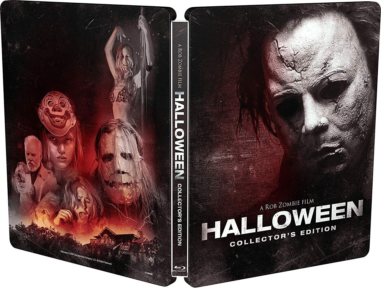 Halloween Rob Zombie Remake.Rob Zombie Announces New Halloween 2007 Steelbook Blu Ray Grave