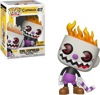 Funko Pop! Games #417 Cuphead Evil Cuphead