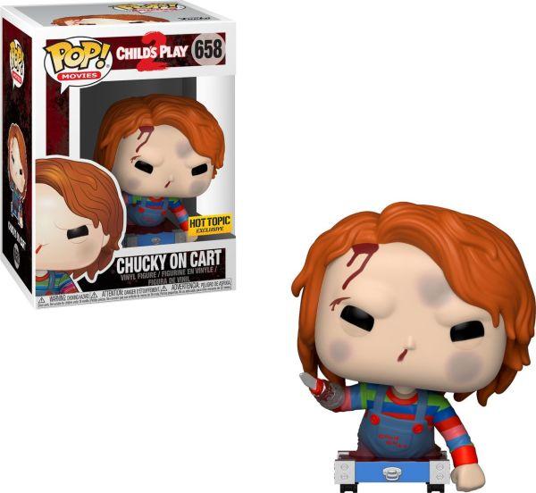 Funko Pop! Movies #658 Child's Play 2 Chucky On Cart