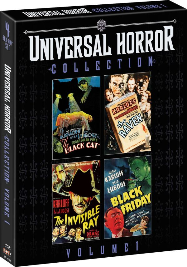 Scream Factory Universal Horror Collection, Vol. 1 Blu-ray Cover