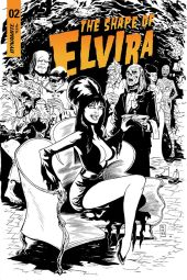 Cover C by Dave Acosta (Black & White)
