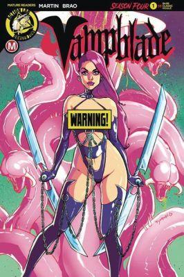 Variant Cover by Steve Desario (Erotic)