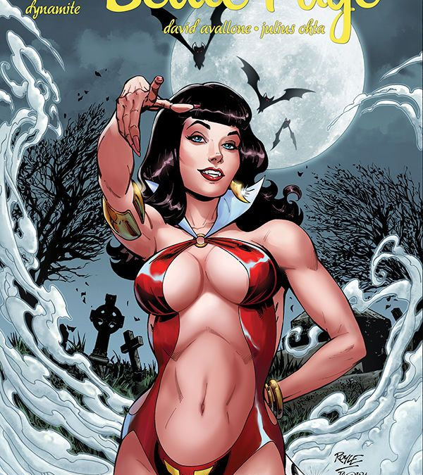 Dynamite Entertainment's Bettie Page: Unbound issue #2 cover A by John Royle.